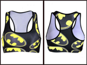 batman sports bra