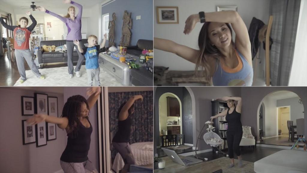 Virtual flashmob via kickstarter
