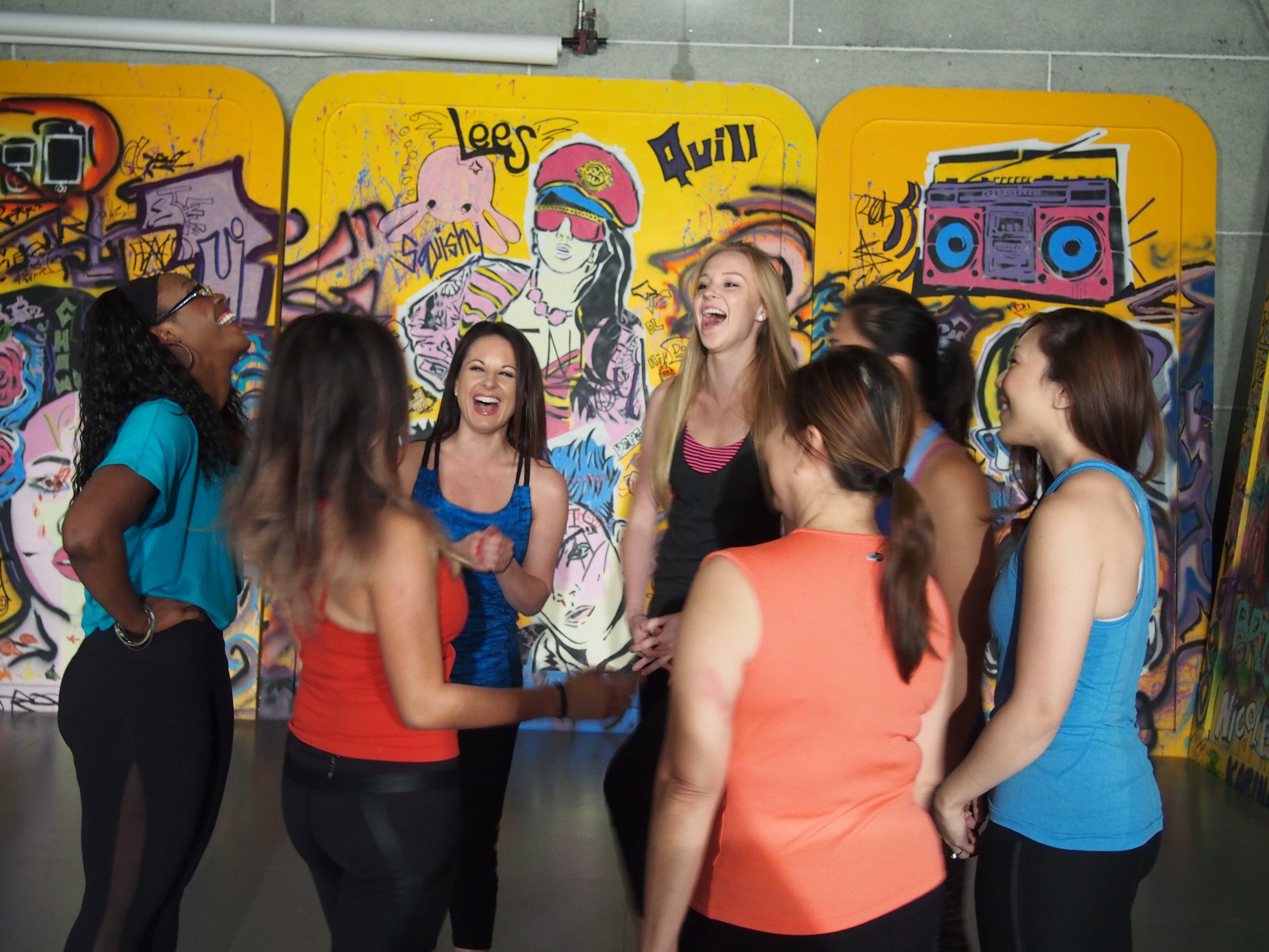 kickstarter dance workout team