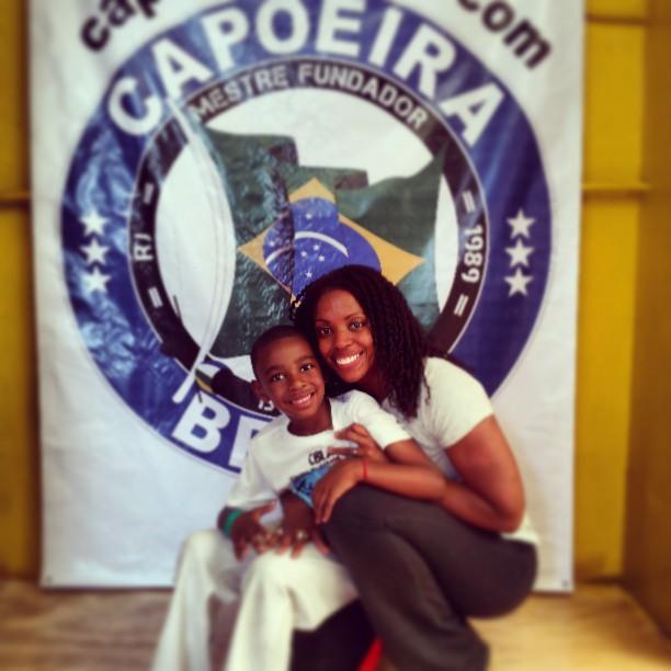 Nya & Isaiah at Capoeira