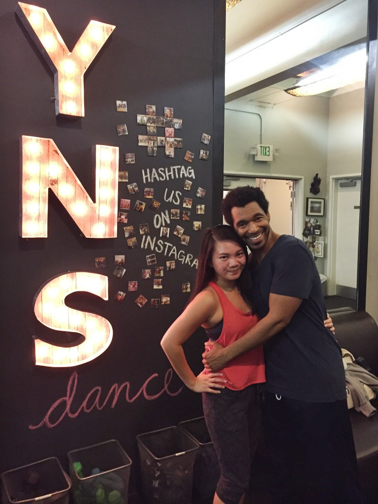 Tor and I after the Broadway class