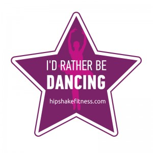 Sticker- id rather be dancing