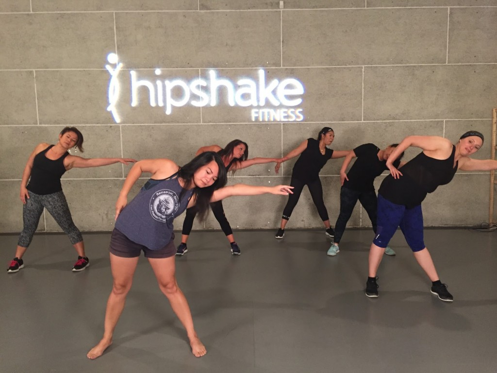 Warm up with the ladies of Flirty Hip Hop.