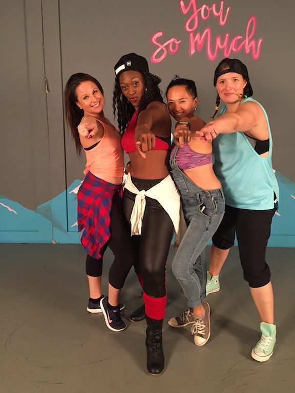 Melissa, Ashley, Cha & Solange wants you to join Hip Shake Fitness!