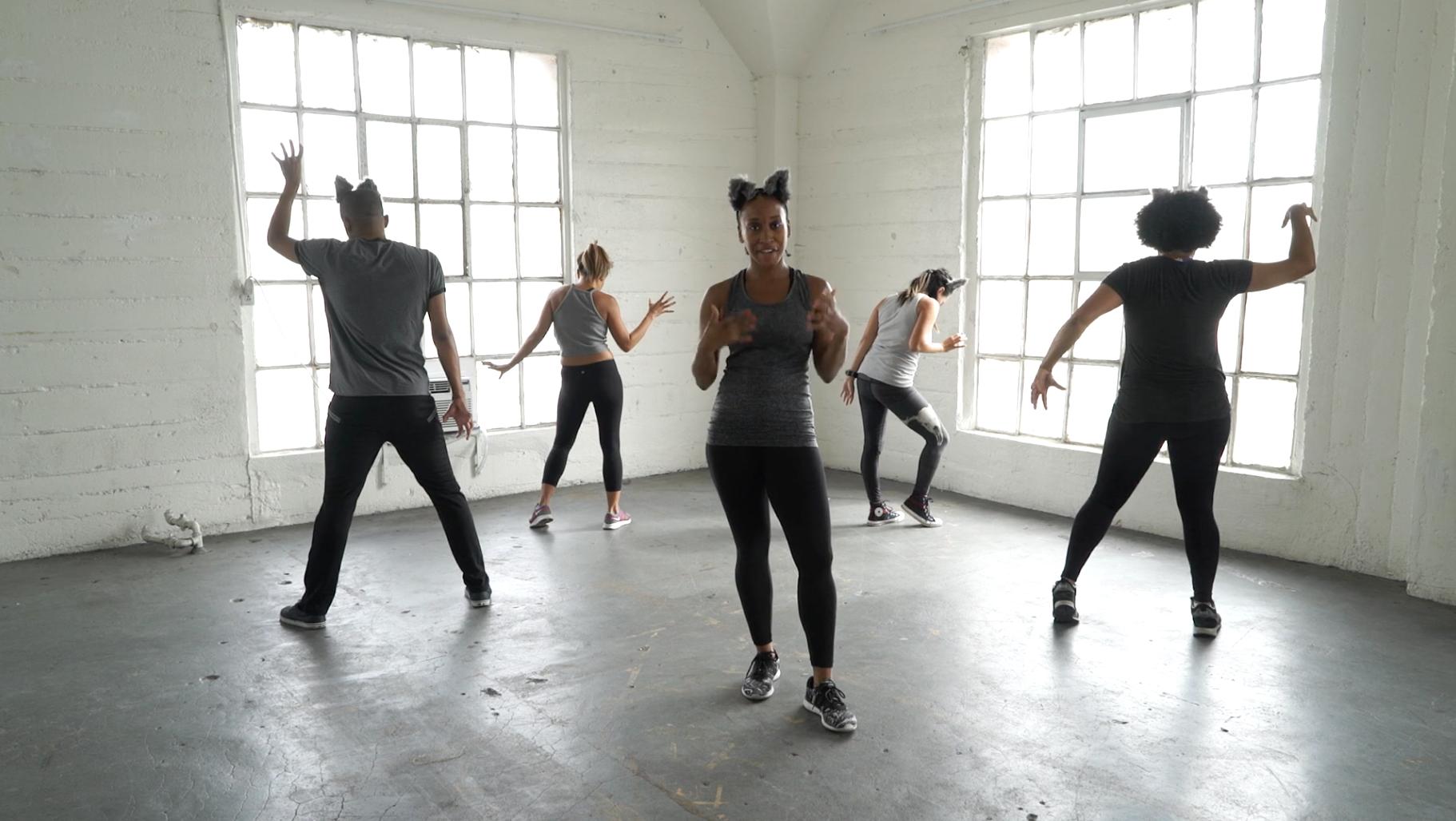 Dancehall Jam She Wolf Shakira Dance Tutorial -8438