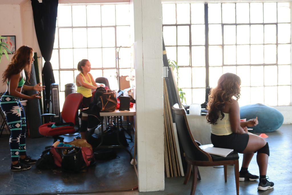 dressing room vs dance room
