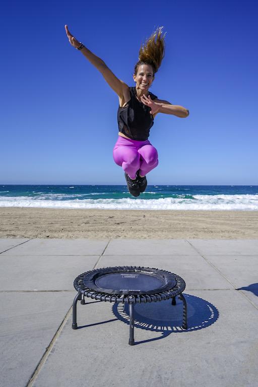 rebounder trampoline instructor