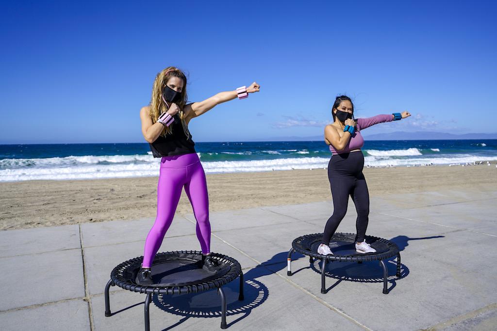 rebounder trampoline workout