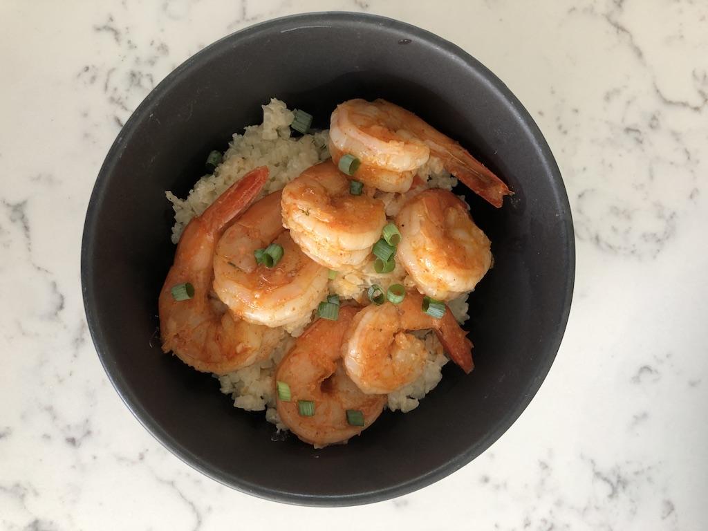 low carb shrimp grits